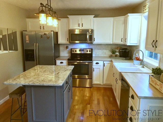 Captivating Oak Kitchen Redo After