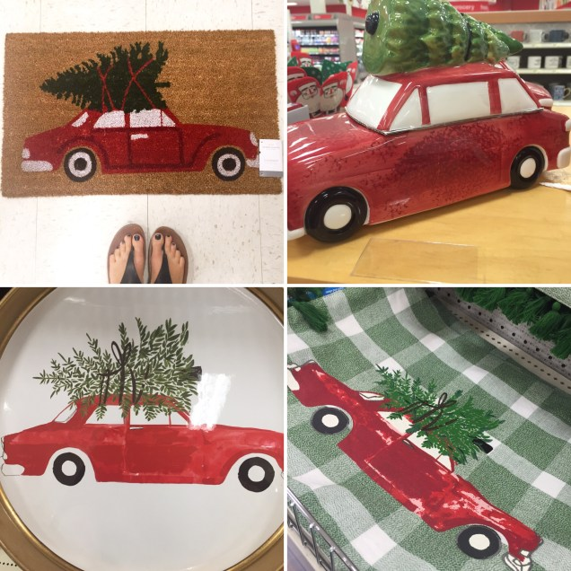 Christmas Trees and Cars
