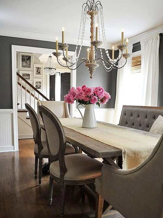 Kendall Charcoal Dining Room