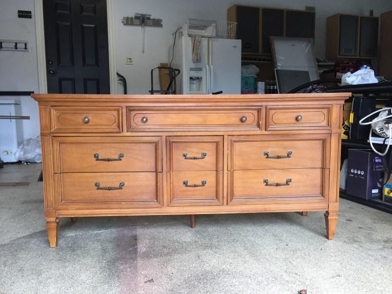 Dixie Dresser Before