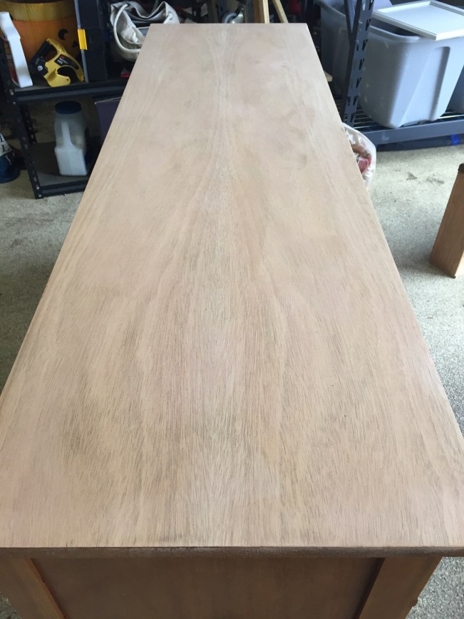 Stripped Dresser Top