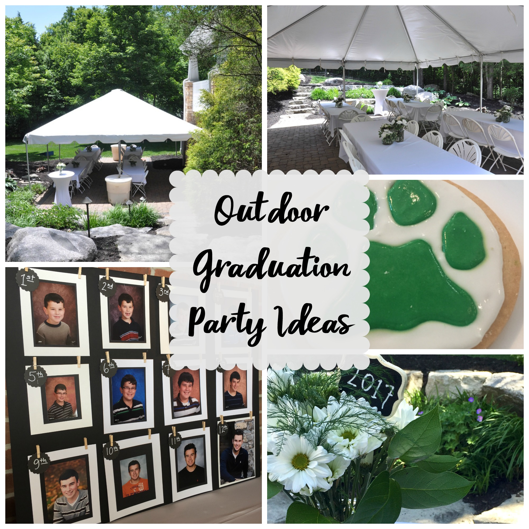 Outdoor Graduation Party Evolution Of Style