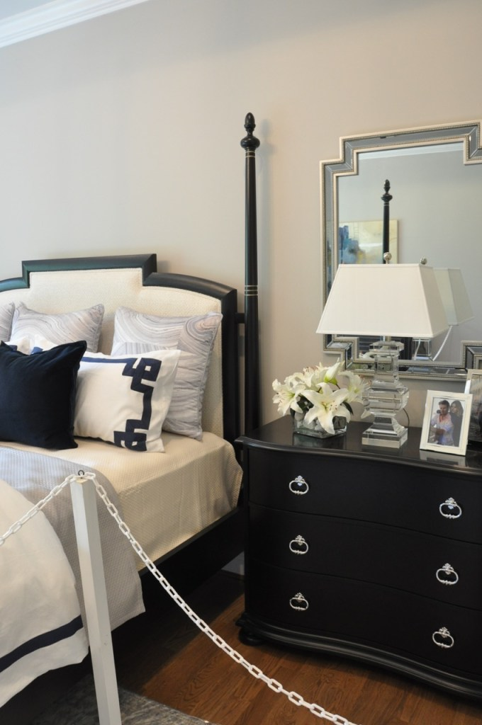 Home Tour: Master Bedroom in Colonnade Gray