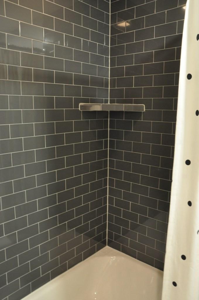 Charcoal Gray Subway Tile