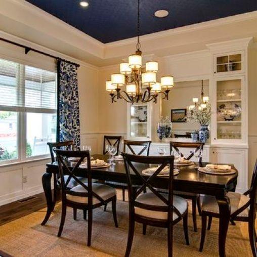 Dining Room Drape Ideas