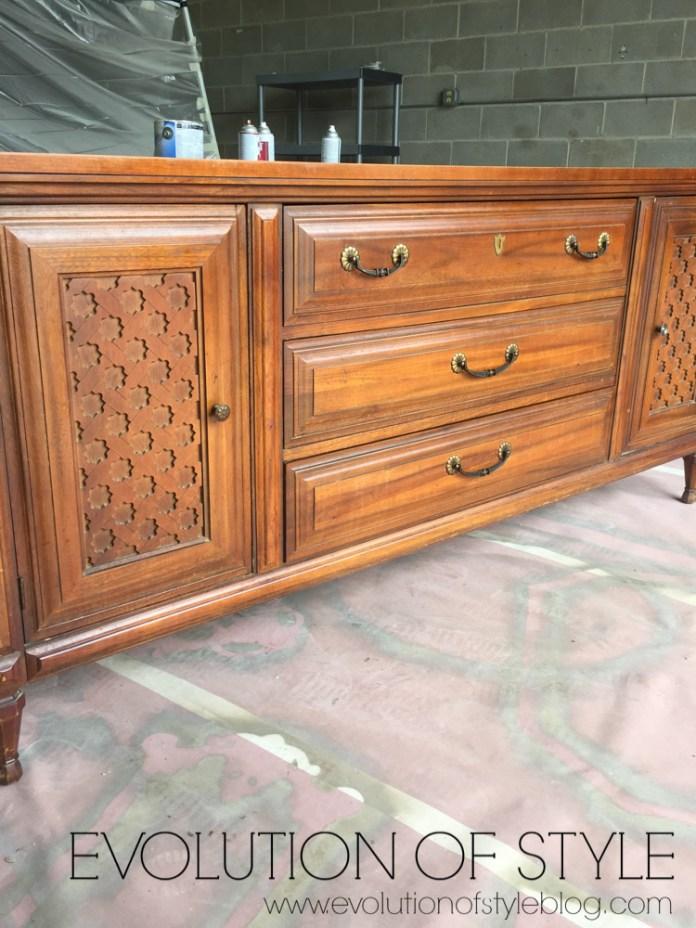 Mid Century Dresser Redo