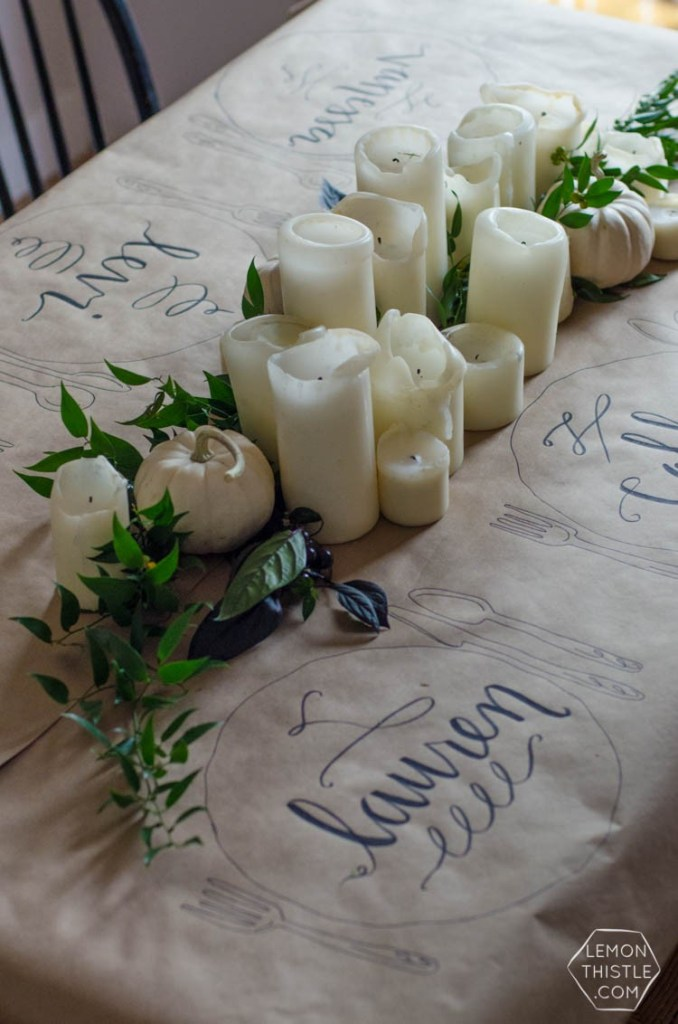 Thanksgiving Table Ideas - Lemon Thistle