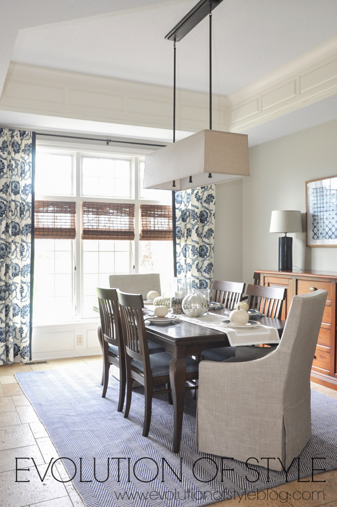 One Room Challenge: Navy Dining Room Makeover