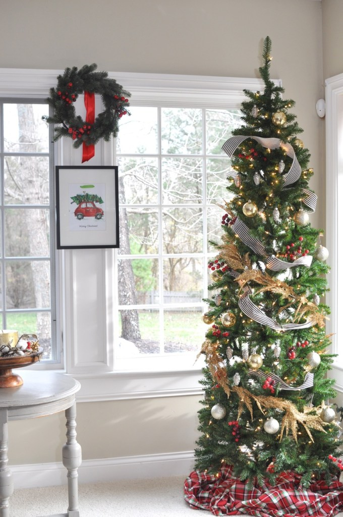My Holiday Home Tour: Christmas Tree