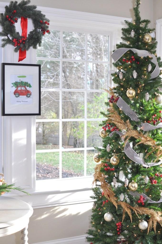 My Holiday Home Tour: Christmas Tree