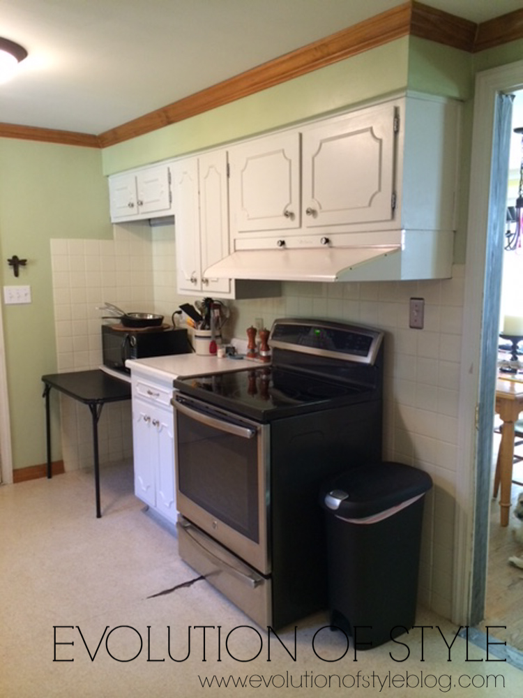 1950's Kitchen Remodel Before and After