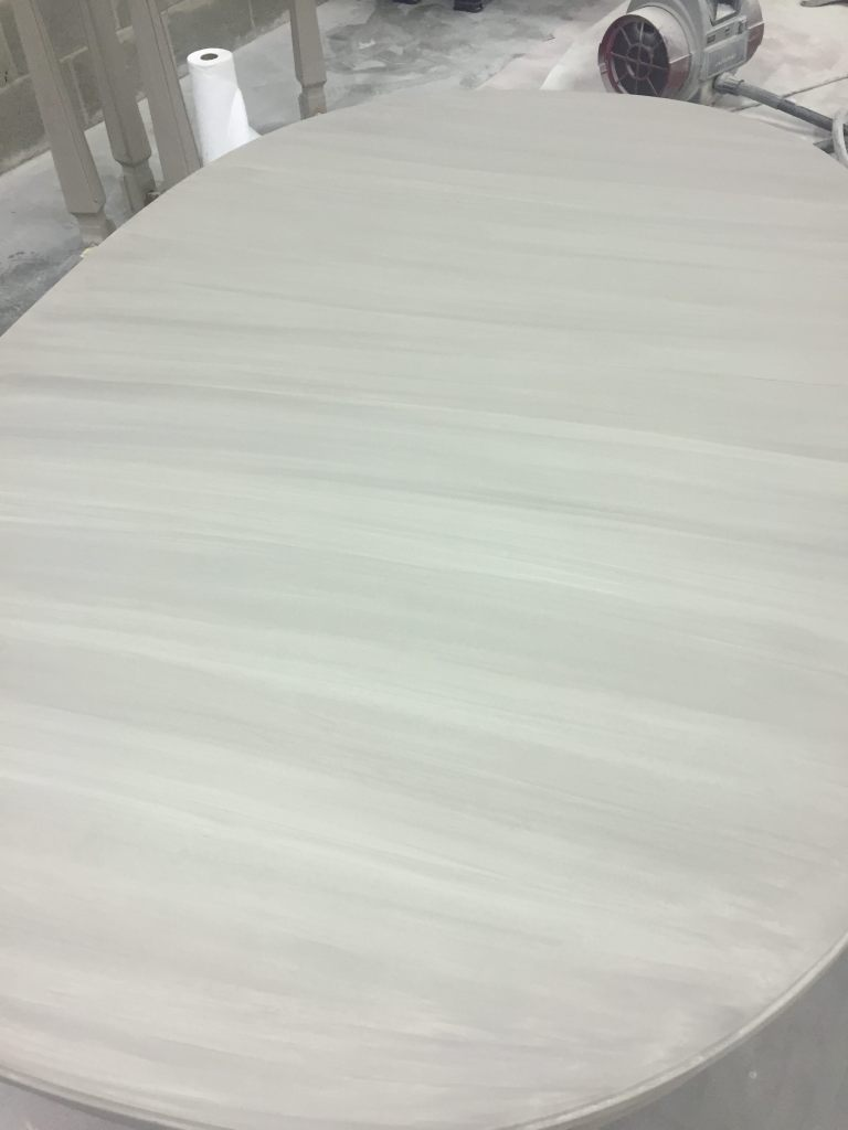 Whitewash Table Process