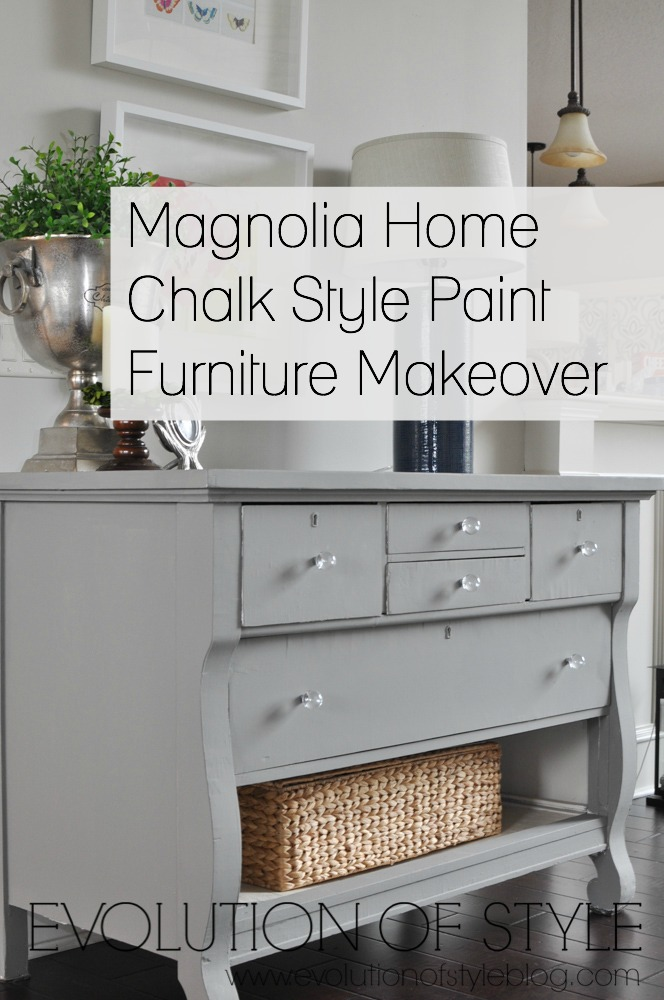 Magnolia Home Dresser Makeover