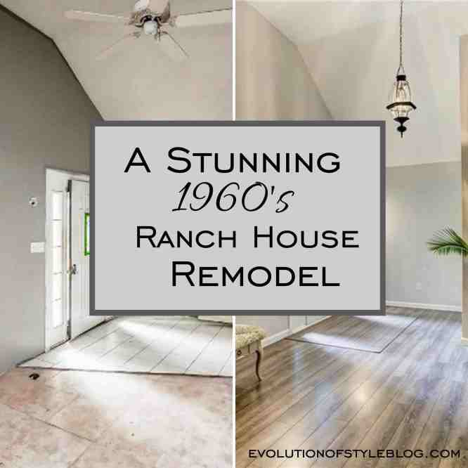 A Stunning 1960s Ranch House Remodel - Evolution of Style