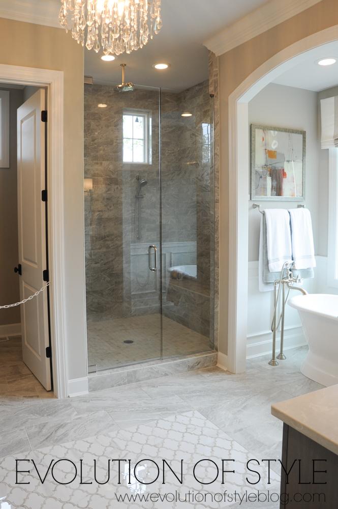 Master bathroom home tour