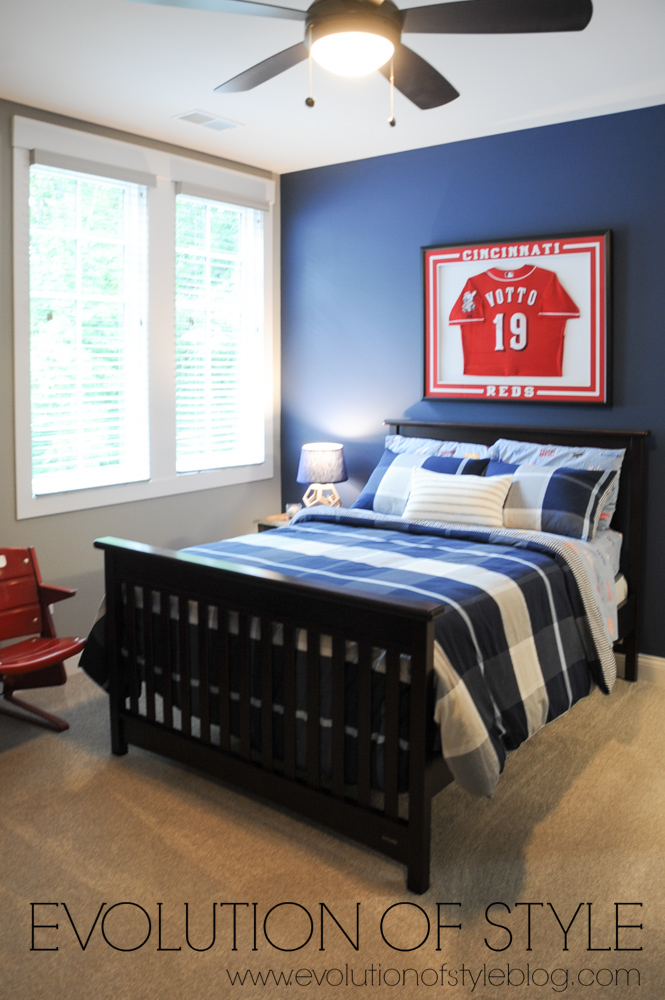 Cincinnati Baseball bedroom
