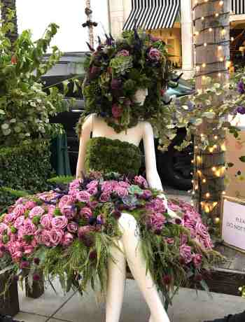 Flower Dress on Rodeo Drive