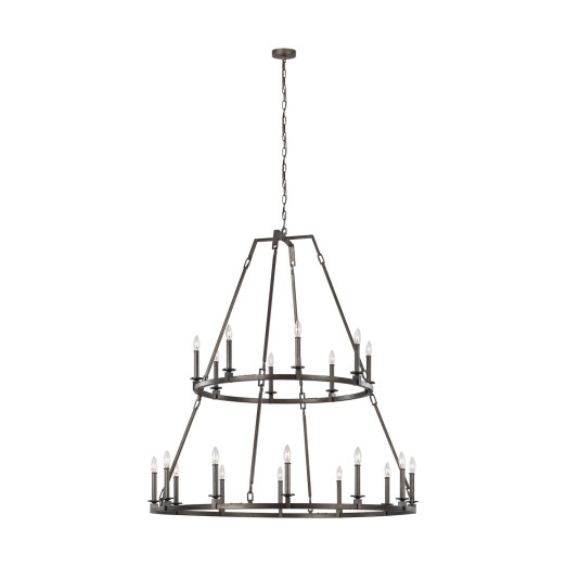 Two-tiered Feiss Chandelier