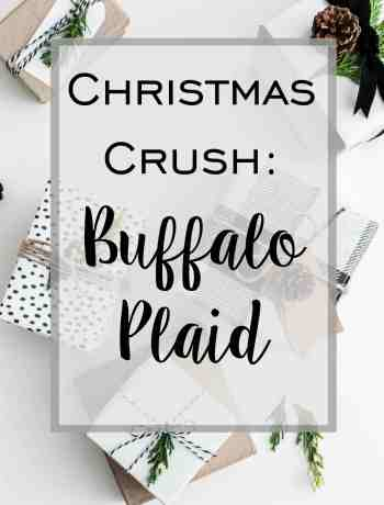 Buffalo Plaid Christmas Decor
