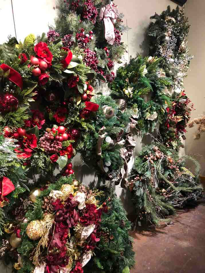 Frontgate Outlet Christmas Wreath Selection