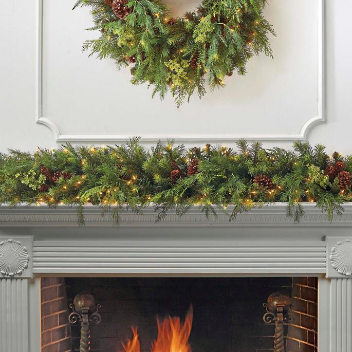 Frontgate Christmas Garland