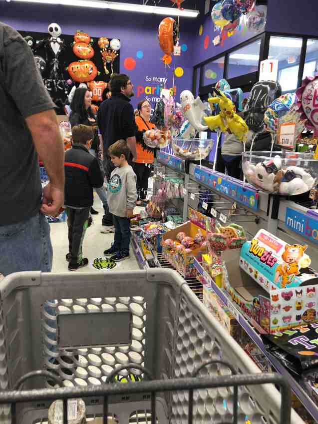 Long lines with one clerk