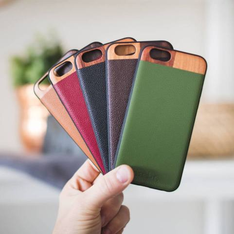 Leather iPhone Case - Holiday Gift Guide