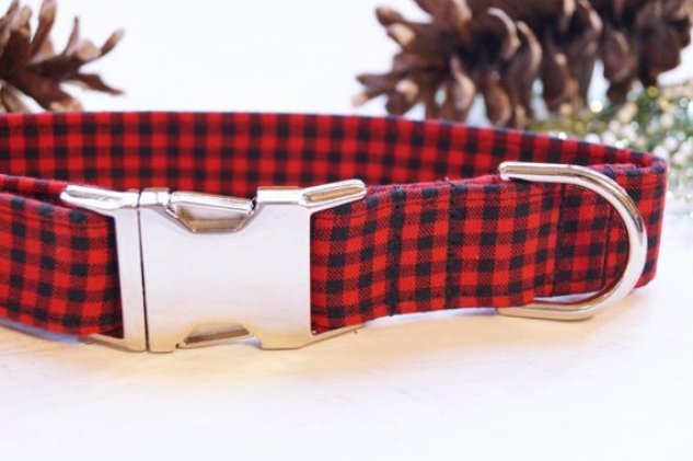 Dog Collar - Buffalo Plaid
