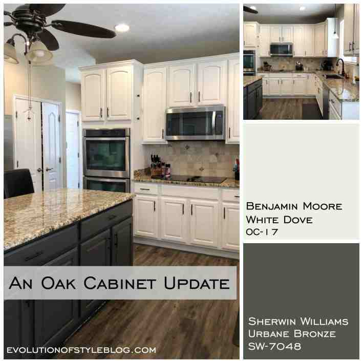 Urbane Bronze Painted Cabinets