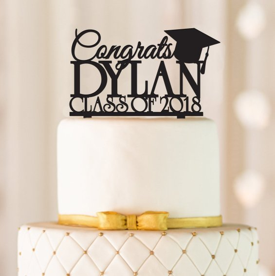Graduation Party Cake Topper