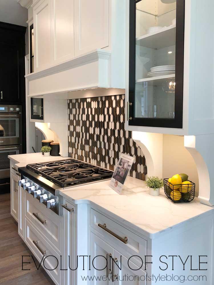 2019 Homearama Day Five - The Nantucket - Kitchen Tile Backsplash