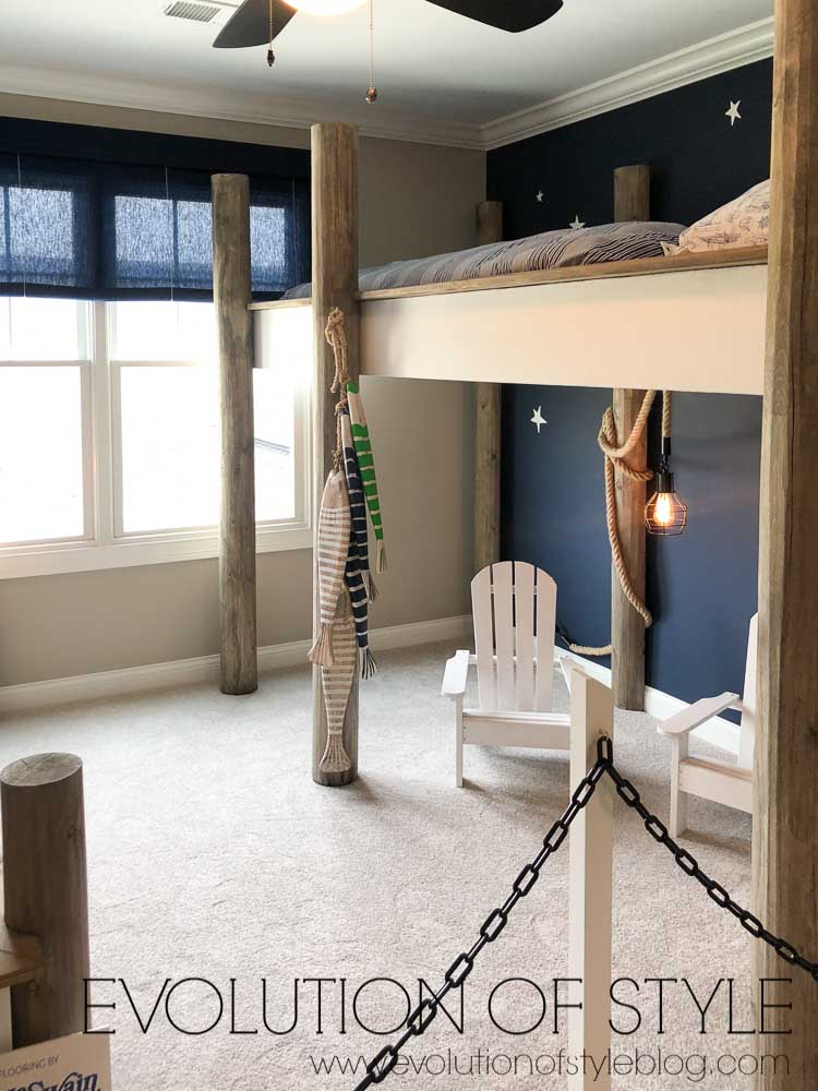 2019 Homearama Day Five - The Nantucket - Kid's Room