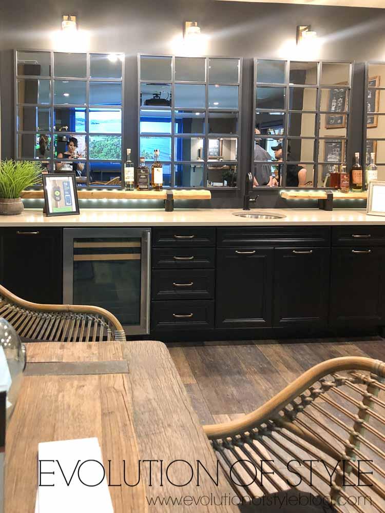 2019 Homearama Day Five - The Nantucket - Basement Bar