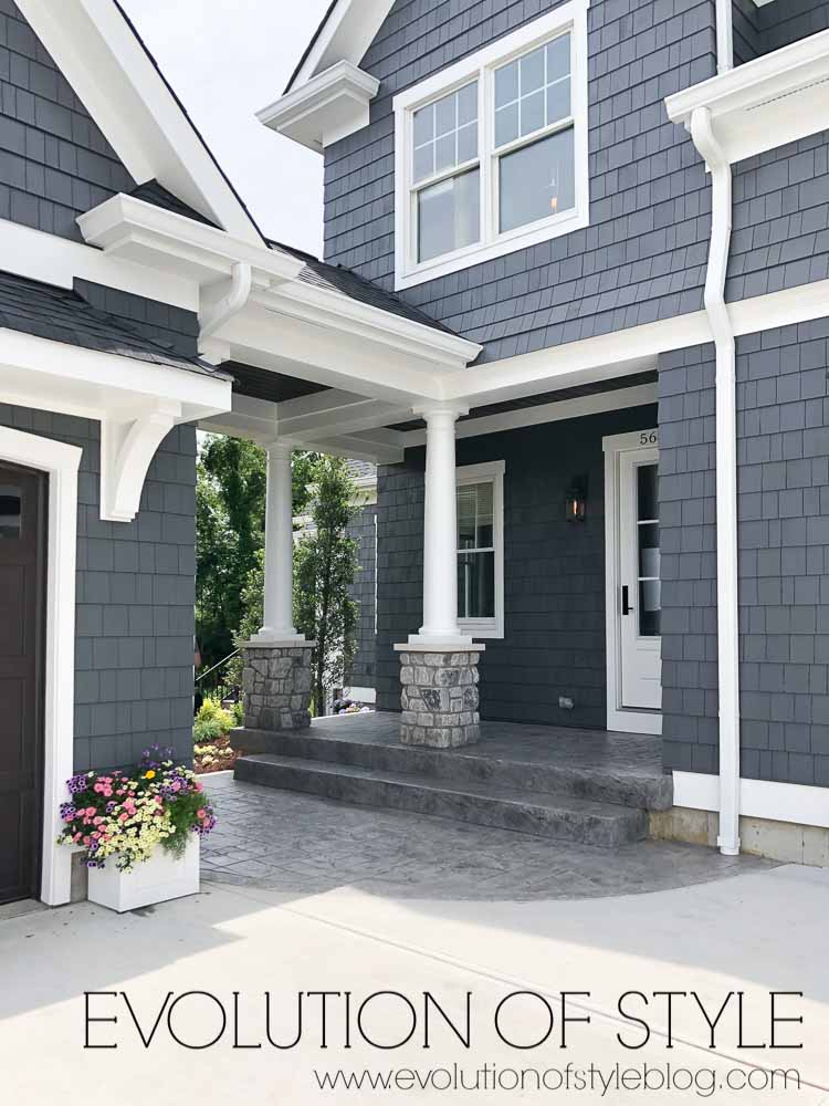 2019 Homearama Day Five - The Nantucket - Exterior Garage