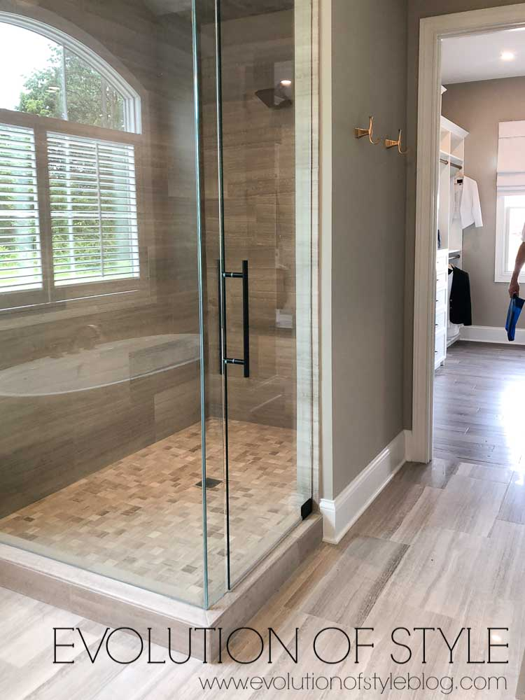 2019 Homearama Day Five - The Nantucket - Master Bathroom Shower