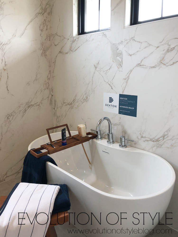 Modern Farmhouse - Master Bathroom Tub