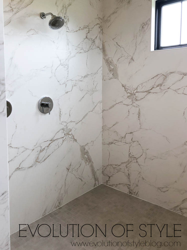 Modern Farmhouse - Master Bathroom Shower