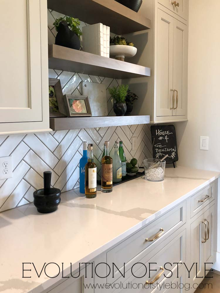 Modern Farmhouse Butler's Pantry