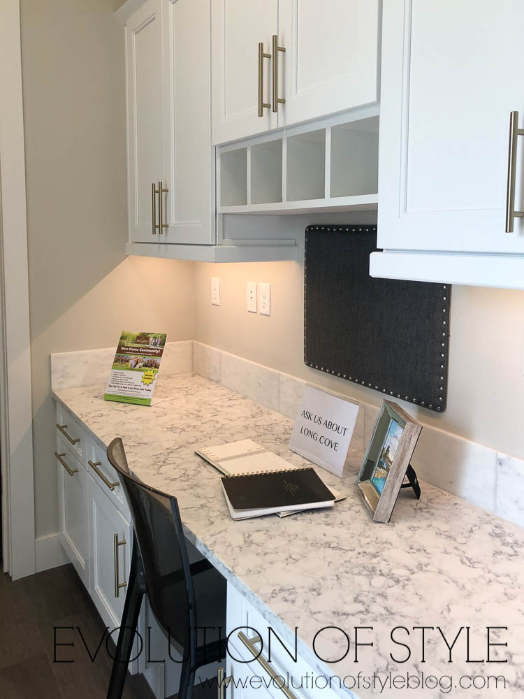 2019 Homearama Day One - Built in Desk