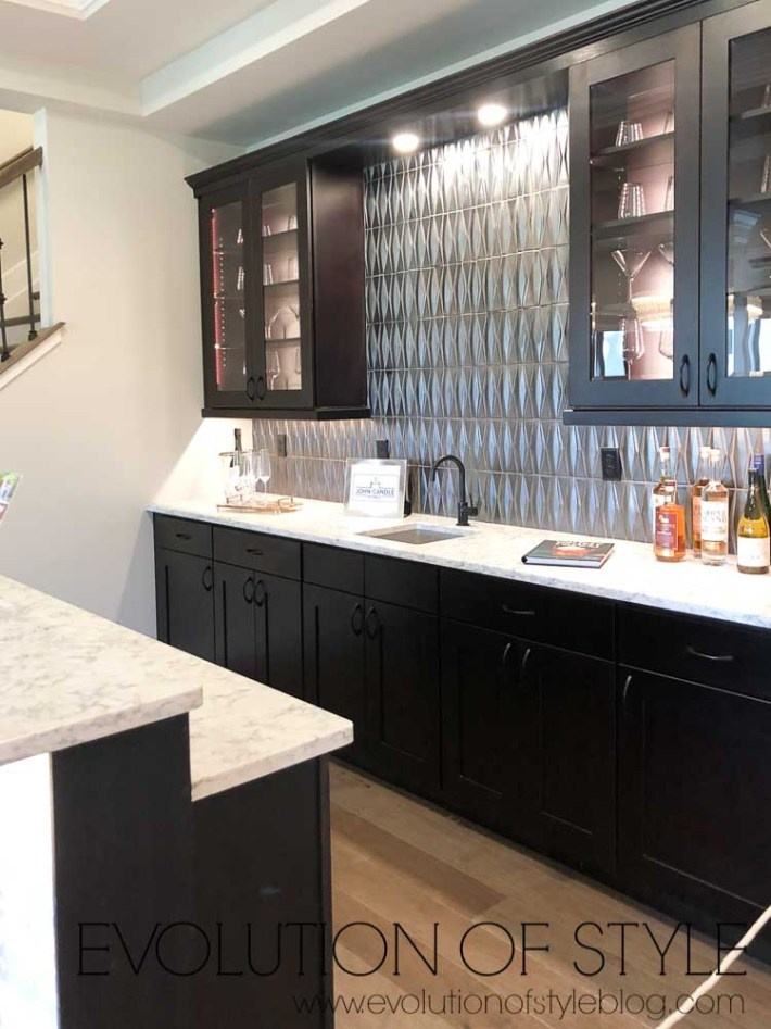 2019 Homearama Day One - Built in Bar