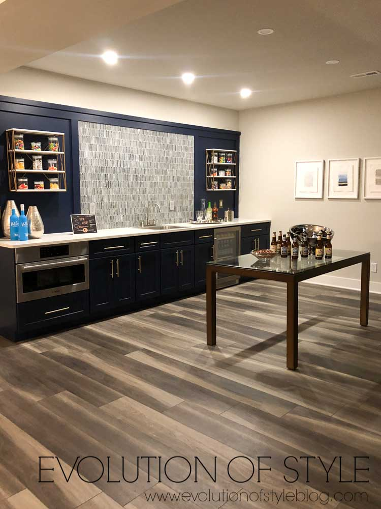 2019 Homearama Day One - Basement Bar