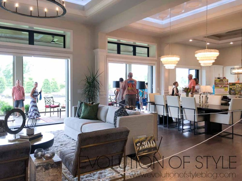 2019 Homearama Day One - Open Floor Plan