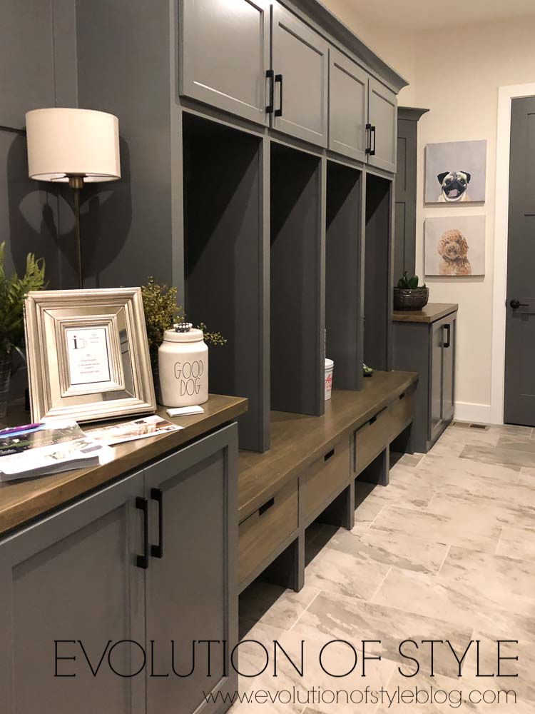 2019 Homearama - The Breckenridge - Mud Room