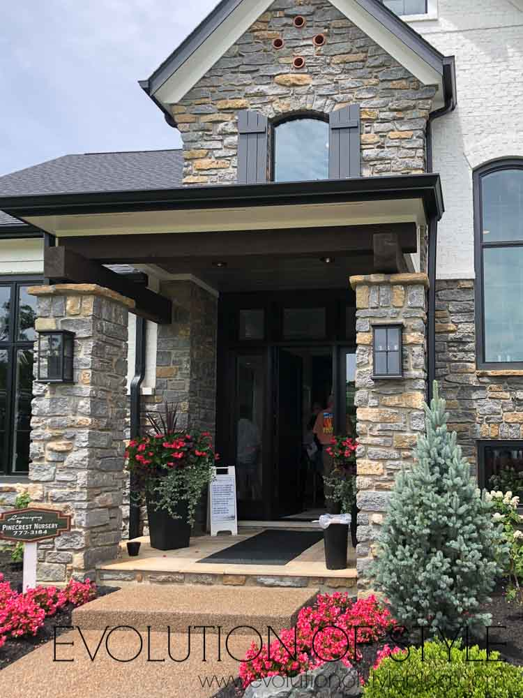 2019 Homearama Day Three - The Glenmoor front porch