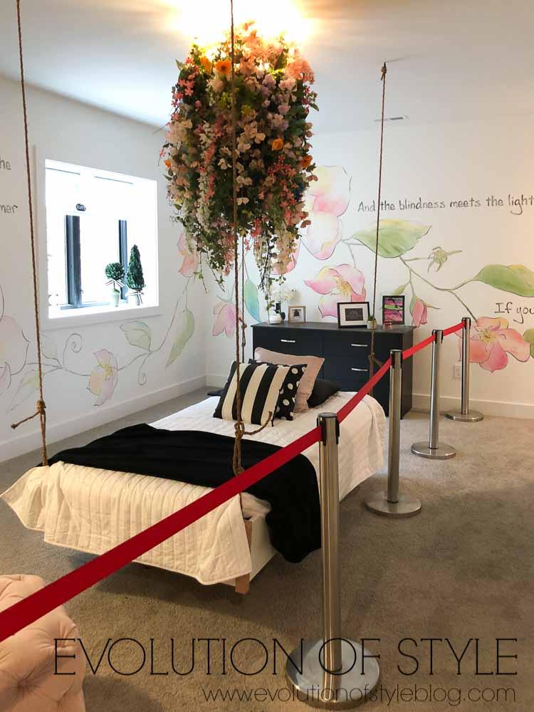 2019 Homearama Day Two - basement bedroom