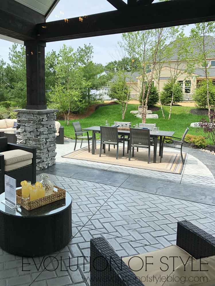 2019 Homearama Day Two - Patio