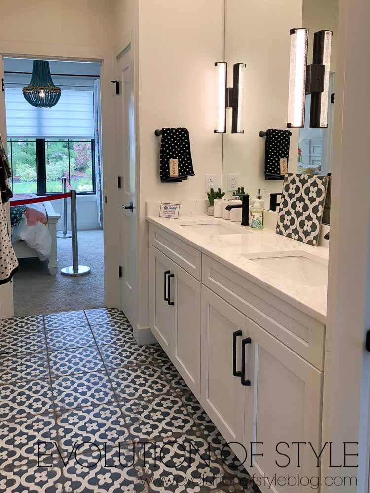 2019 Homearama Day Two - Jack and Jill Bathroom