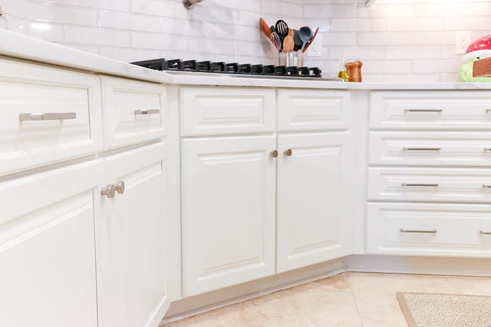 Dover White Cabinets