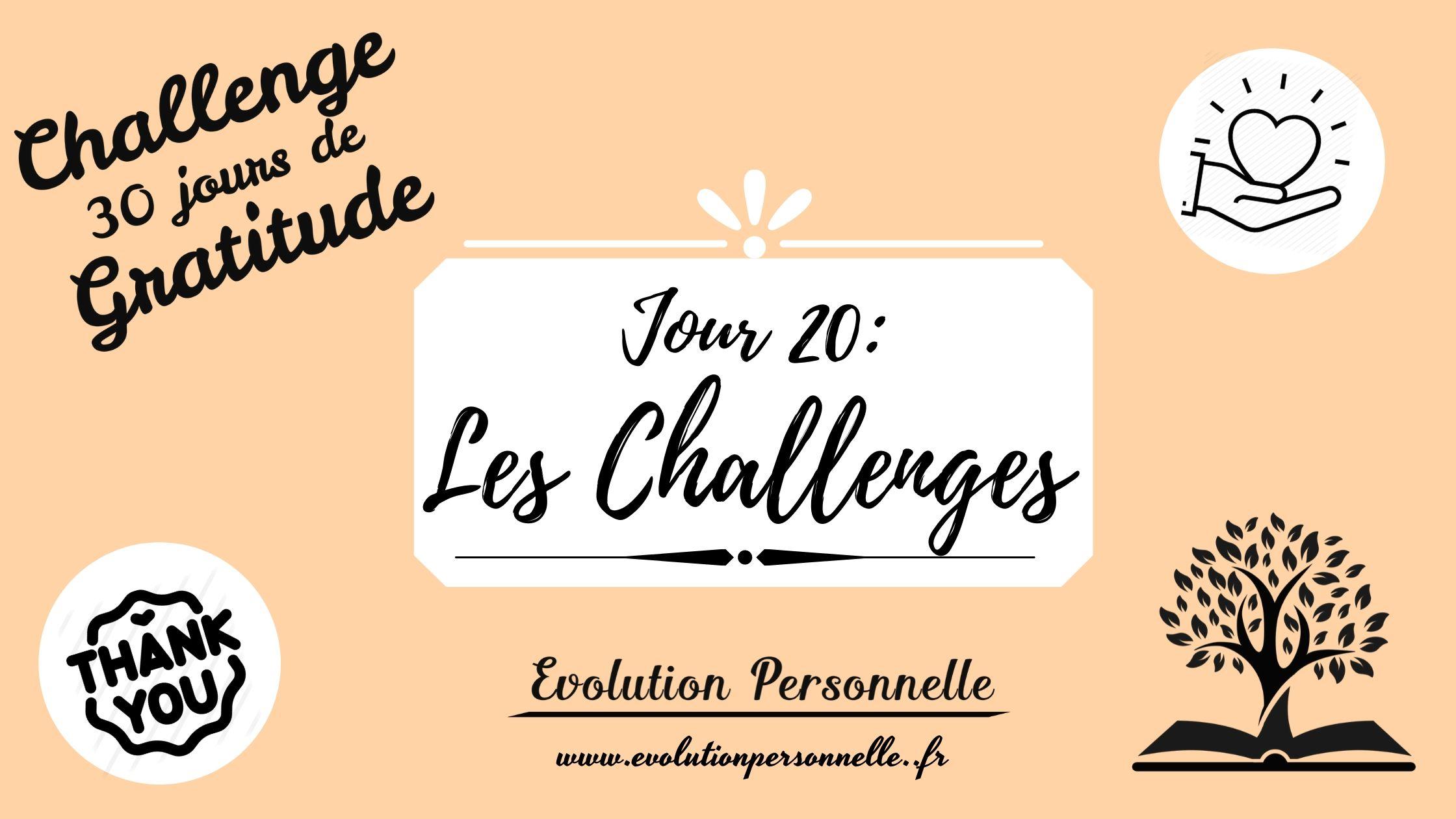 les challenges challenge gratitude