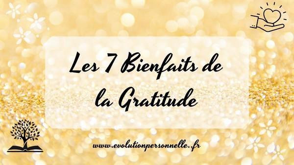 7 bienfaits de la gratitude -1